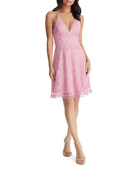 Dress the Population - Piper Lace Dress