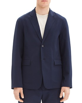 Theory - Saratoga Crushed Textured Regular Fit Blazer
