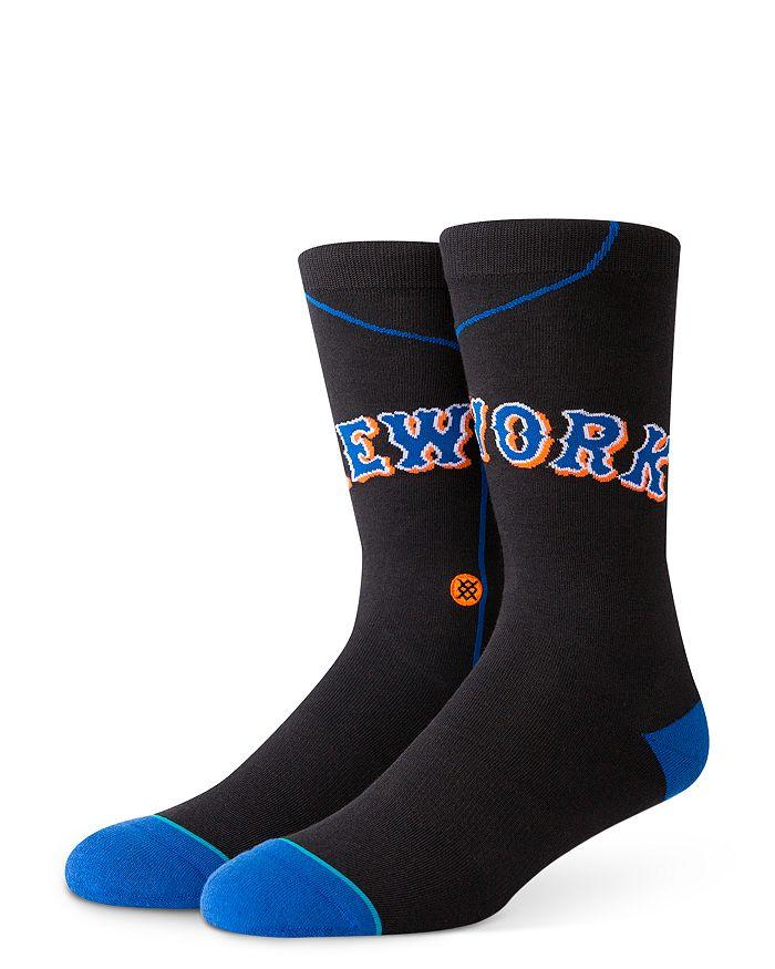Stance Mets Alt Road 1999 Jersey Socks In Black