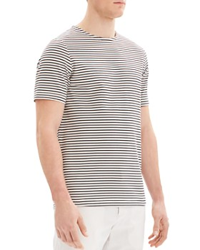 Theory - Ark Jersey Dex Striped Tee