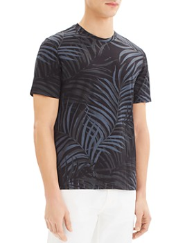 Theory - Saygo Jersey Clean Frond-Print Tee