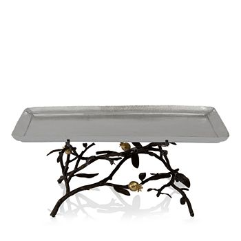Michael Aram - Pomegranate Footed Centerpiece Tray, Large