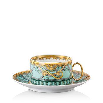 Versace - La Scala del Palazzo Tea Cup & Saucer