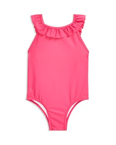 Ralph Lauren - Girls' Ruffled One-Piece Swimsuit - Baby