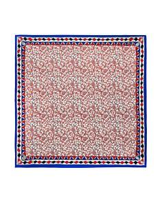 Tory Burch - Meridian Scrolling Floral Silk Scarf