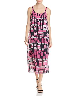 NIC and ZOE - Block Party Sleeveless Printed Midi Dress