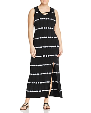 Marc New York Performance Plus Tie-Dyed Jersey Maxi Dress
