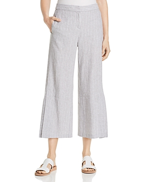 Nic And Zoe Pants NIC+ZOE CENTRAL PARK STRIPED CROPPED PANTS