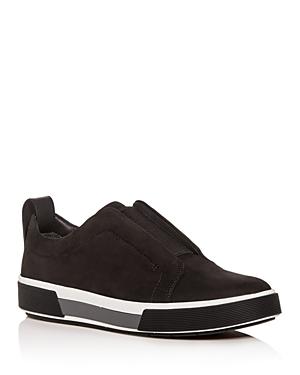 Vince Men's Ranger Nubuck Leather Slip-On Sneakers