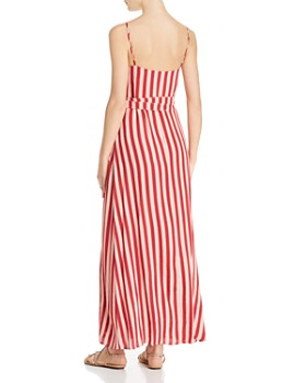 Flynn Skye - Anderson Striped Wrap Dress