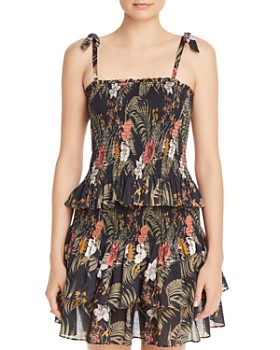 Rebecca Minkoff - Dolly Smocked Floral-Print Top