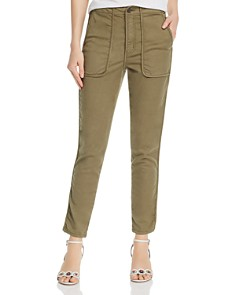 Joie - Andira Piped Cropped Pants