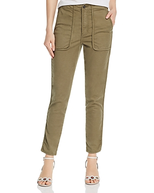Joie Pants ANDIRA PIPED CROPPED PANTS