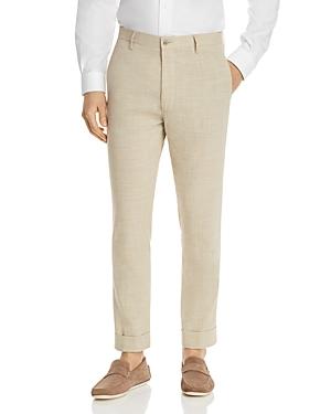 Zanella Dresses NOAH MELANGE SOLID SLIM FIT DRESS PANTS