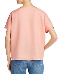 Eileen Fisher - Organic Linen Boxy Top