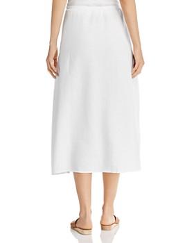 Eileen Fisher - Organic Linen A-Line Midi Skirt