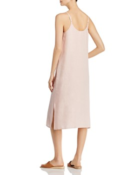 b8aa7ed315a ... Eileen Fisher Petites - Organic Linen Slip Dress