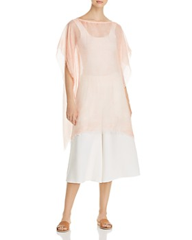 de2ec9cd7236c3 Eileen Fisher - Sheer Poncho Top Eileen Fisher - Sheer Poncho Top. Quick  View