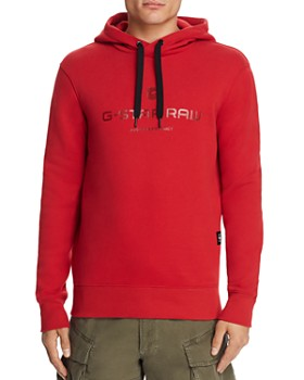 G-STAR RAW - Graphic 34 Core Logo-Print Hooded Sweatshirt