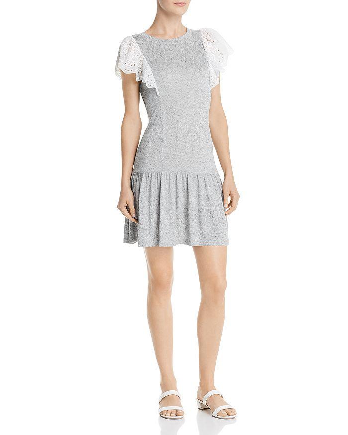 Rebecca Taylor - Livy Lace-Trimmed Jersey Dress