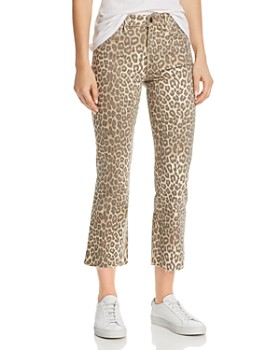 92acd65ca4c60 Joe's Jeans - Callie Leopard-Print Jeans in Amur - 100% Exclusive ...