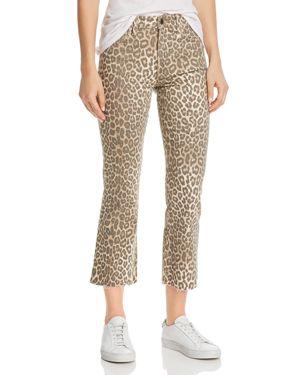 Joe's Jeans Callie Leopard-Print Jeans in Amur - 100% Exclusive