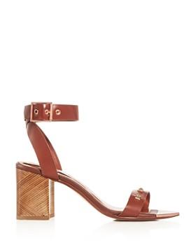 Ted Baker - Women's Biah Studded Block-Heel Sandals