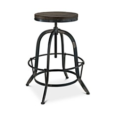 Modway - Collect Wood Top Bar Stool