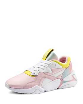 1f27fe2e12c PUMA - x Nova x Barbie Women s Mixed Media Pastel Lace-Up Sneakers ...