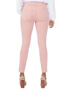 NYDJ - Ami Cropped Skinny Jeans in Coral Haze