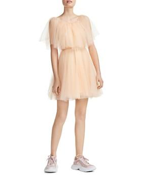 Maje - Rossini Tulle Overlay Dress