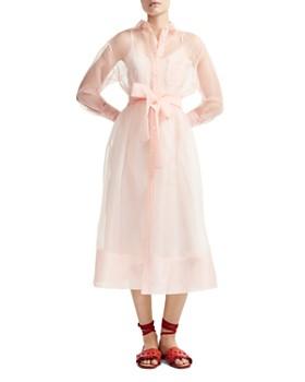 fd97fcee2c91 Maje - Roane Organza Shirt Dress ...