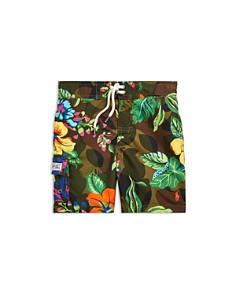 Ralph Lauren - Boys' Kailua Floral-Camo Swim Trunks - Little Kid
