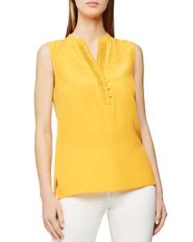 REISS - Cecily Silk Top