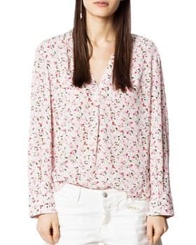 5c6e6c8a294 Zadig   Voltaire - Tink Floral Tunic ...