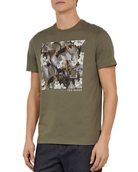 Ted Baker - Forge Floral Graphic Crewneck Tee