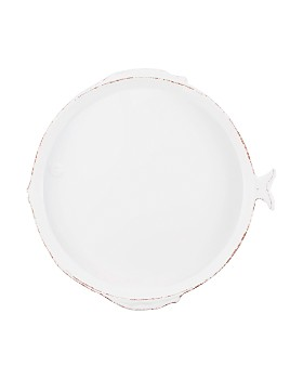VIETRI - Melamine Lastra Fish Round Platter