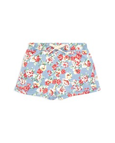 Ralph Lauren - Girls' Floral French Terry Shorts - Baby