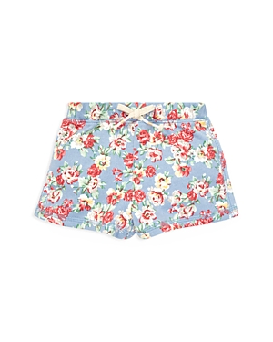 Ralph Lauren Childrenswear Girls Floral French Terry Shorts  Baby