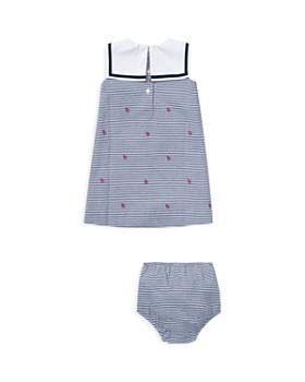 Ralph Lauren - Girls' Seersucker Sailor Dress & Bloomers - Baby