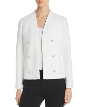 e51616378dde Calvin Klein - Bouclé Open Jacket ...