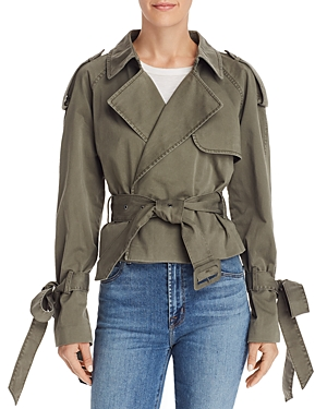 Anine Bing Jackets ARIA TRENCH-STYLE JACKET