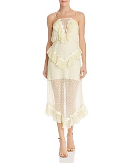 Alice McCall - Wonders Ruffle Midi Dress