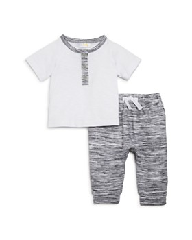 Bloomie's - Boys' Henley Tee & Jogger Pants Set, Baby - 100% Exclusive