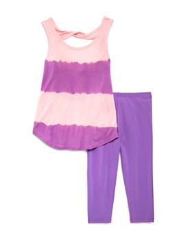 Splendid - Girls' Tie-Dyed Tank & Leggings Set - Little Kid