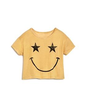 Play Six - Girls' Smiley Tee - Little Kid