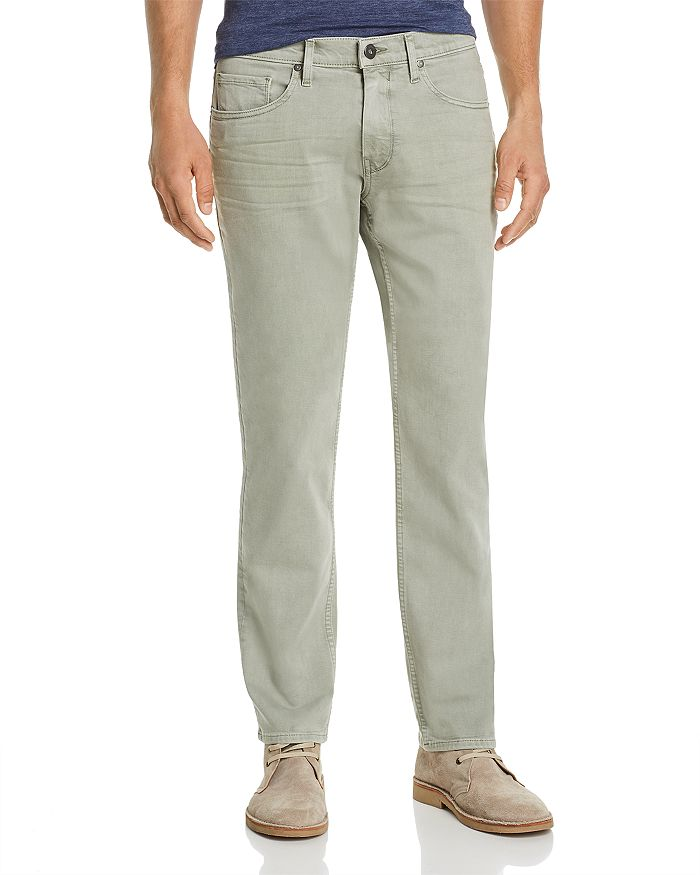 PAIGE - Federal Slim Straight Fit Jeans in Vintage Soft Moss
