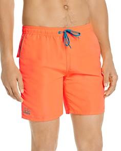 SUNDEK - Stripe-Trimmed Swim Shorts