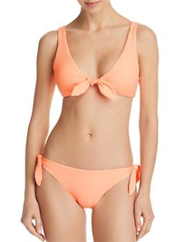Dolce Vita - Day Glow Bralette Bikini Top & Day Glow Tie Bikini Bottom