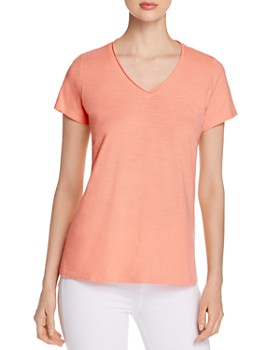 5127dd60 Eileen Fisher - Organic Cotton High/Low Tee - 100% Exclusive ...